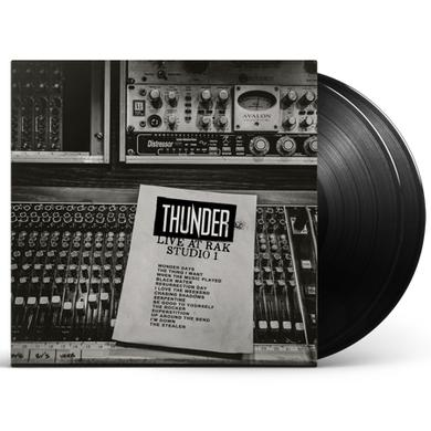 Thunder Live At RAK Studio 1 (Signed) Double Heavyweight LP (Vinyl)