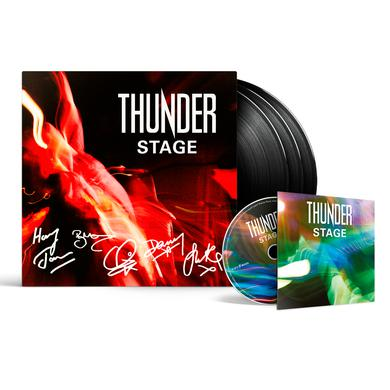 Thunder Stage 3LP + Blu-ray (Signed & Limited) Triple Heavyweight LP