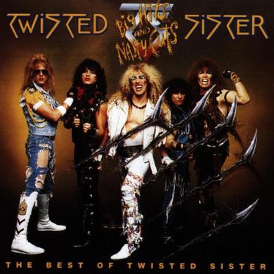 Twisted Sister Big Hits And Nasty Cuts CD