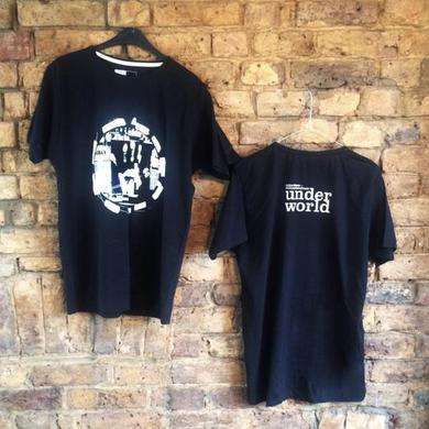 Underworld dubnobasswith myheadman Black T-Shirt (Front & Back Print)