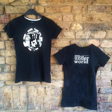 Underworld dubnobasswith myheadman Black T-Shirt (Super Slim Fit)