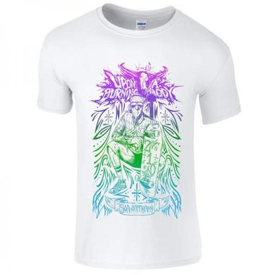Upon A Burning Body UABB Skater White T-Shirt