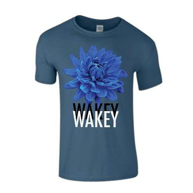 Wakey Wakey Blue Homeless Poets T-Shirt