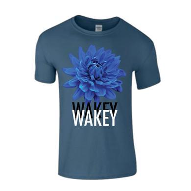 Wakey Wakey Blue Homeless Poets T-Shirt