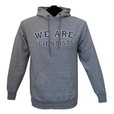We Are Scientists College Logo Mens Grey Hoody