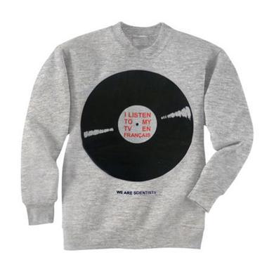 We Are Scientists Record Heather Grey Sweatshirt