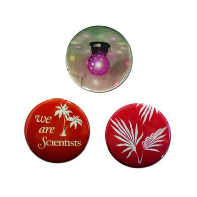 We Are Scientists Disco Badge Pack (Set Of Three)