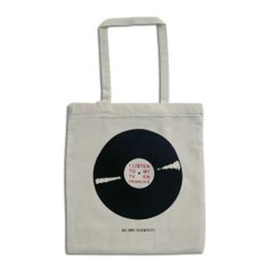 We Are Scientists Record Tote Bag