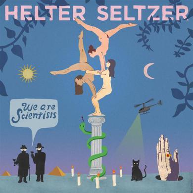 We Are Scientists Helter Seltzer LP (Limited Teal Vinyl  + Download Code) LP