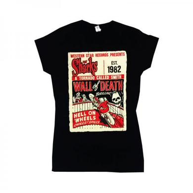WESTERN STAR Wall Of Death T-Shirt (with Back Print)