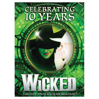 Wicked 10th Anniversary Book