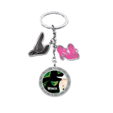 Wicked London Charm Keychain