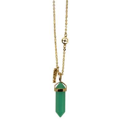 Wicked Green Quartz Necklace