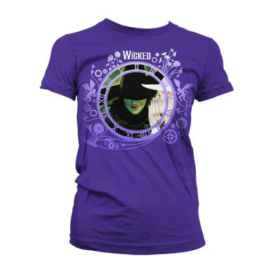 Wicked Purple Keyart Collage Tee