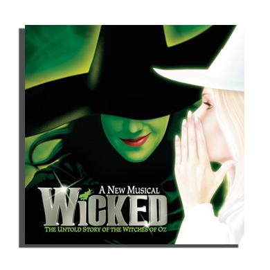 Wicked Original Cast Recording CD