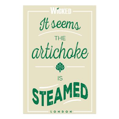 Wicked Artichoke Tea Towel