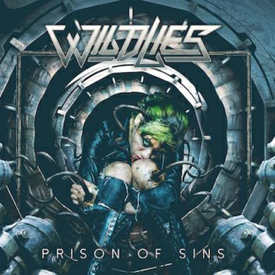 WILD LIES Prison Of Sins Vinyl LP (Signed) LP
