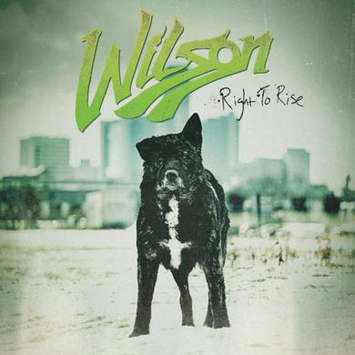 Wilson Right To Rise CD Album (Signed) CD
