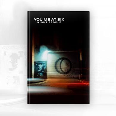 You Me At Six Night People Deluxe CD Book Album CD