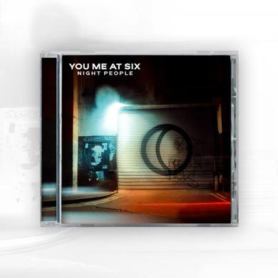 You Me At Six Night People CD Album CD