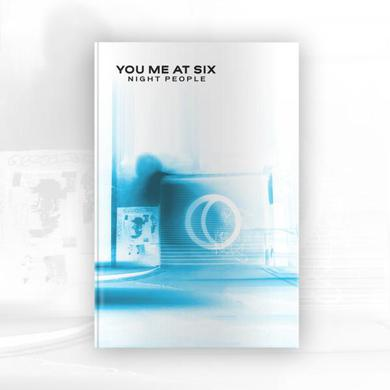 You Me At Six Night People Deluxe CD Book Album (Inverted Artwork, Signed, Exclusive)  CD