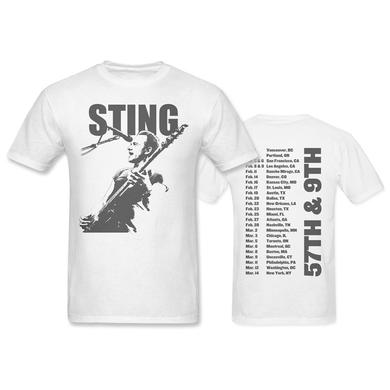Sting AXE (2-sided white Tee)