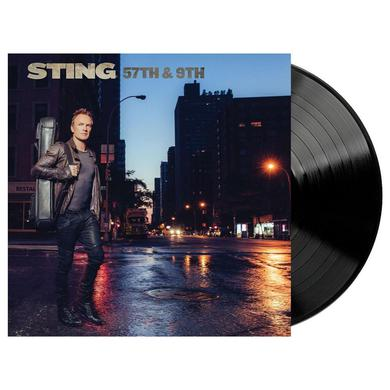 Sting 57th & 9th 180g Black Vinyl