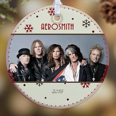 Aerosmith Holiday 2016 Photo Ornament