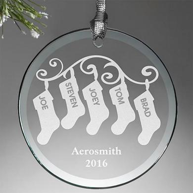 Aerosmith Holiday 2016 Stocking Ornament
