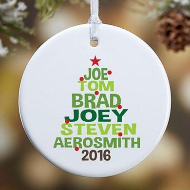 Aerosmith Holiday 2016 Tree Ornament
