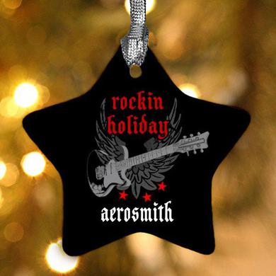 Aerosmith Rockin Holiday Star Ornament