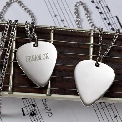 Aerosmith Dream On Guitar Pick Necklace