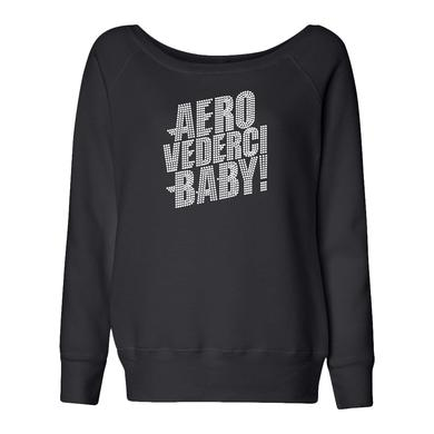 Aerosmith Aero Vederci Baby! Bling Fleece Slouchy