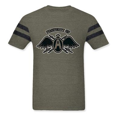 Aerosmith Grey Football Jersey