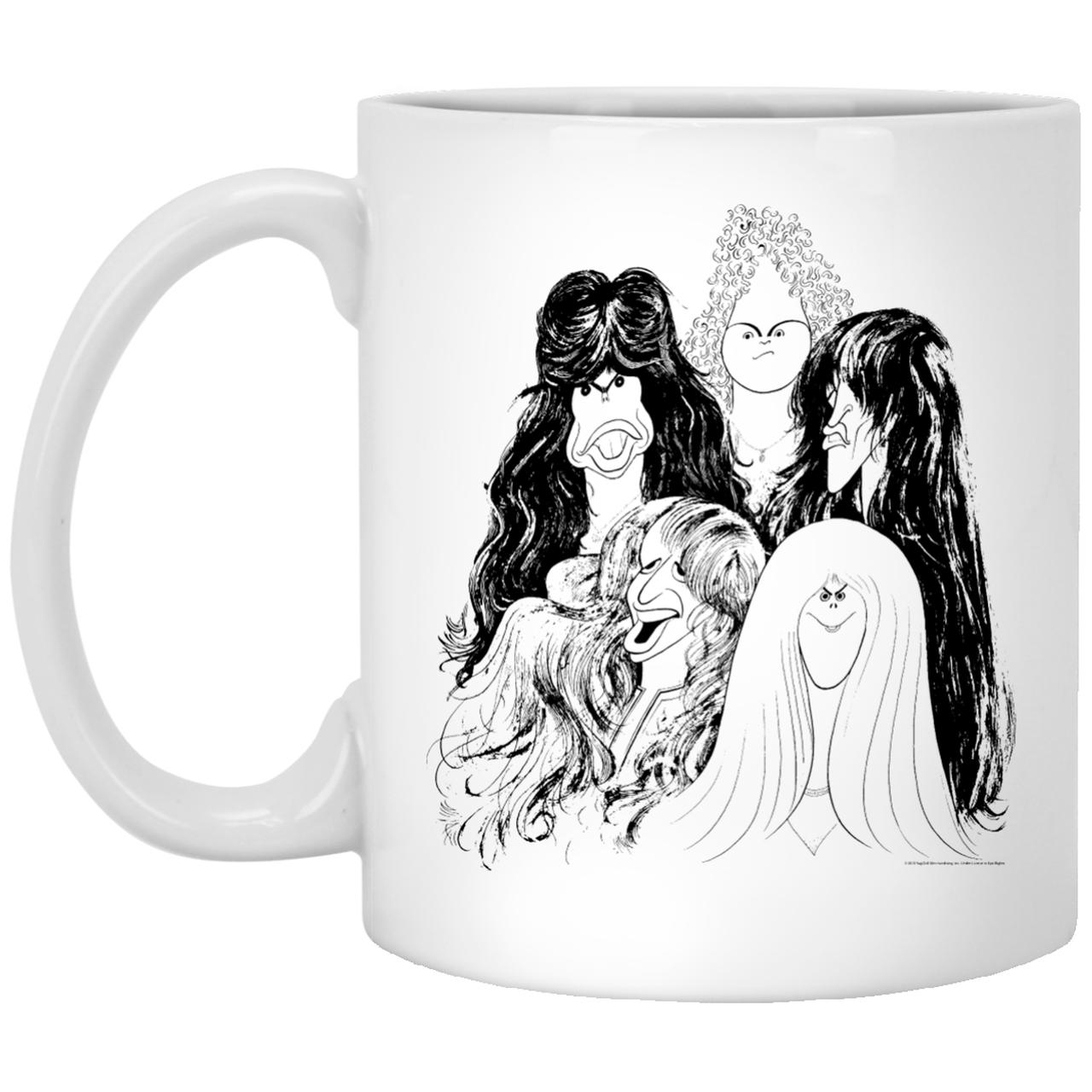Aerosmith Draw The Line Mug