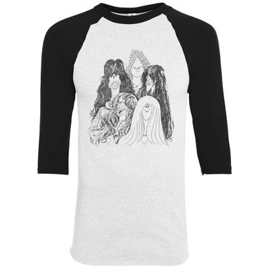 Aerosmith Draw the Line (baseball tee)