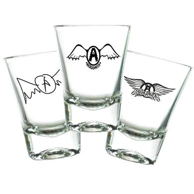 Aerosmith Collectors Shot Glass Set