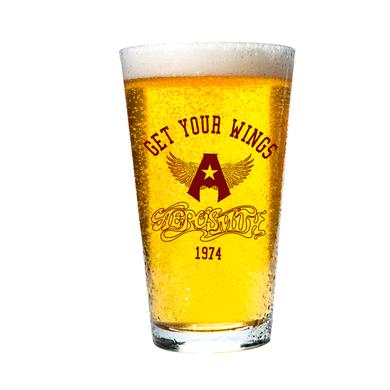 Aerosmith Get Your Wings 1974 Pint Glass