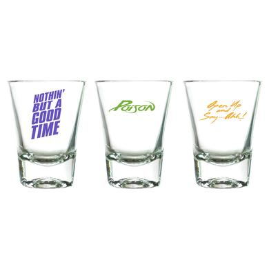 Poison Open Up and Say... Ahh! Shot Glass Set
