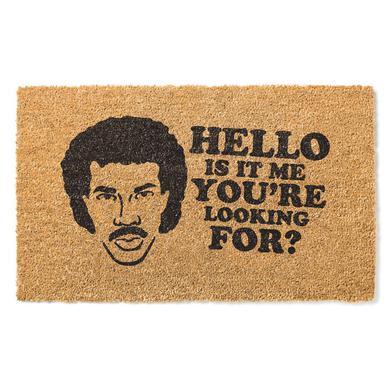 Lionel Richie Hello Door Mat