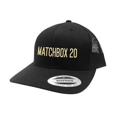 Matchbox 20 MB20 Logo Trucker Hat