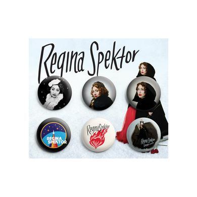 Regina Spektor 2017 Button Pack