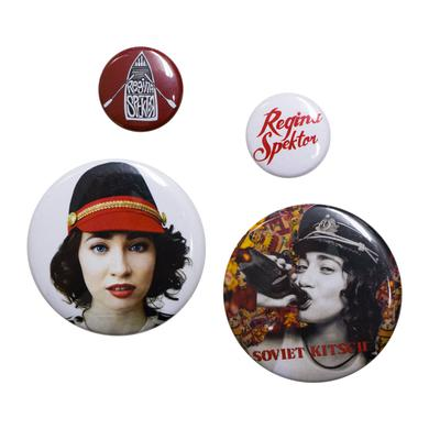 Regina Spektor Button Pack