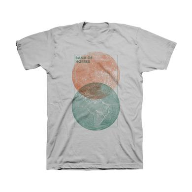Band Of Horses Moon & Earth Unisex Tee