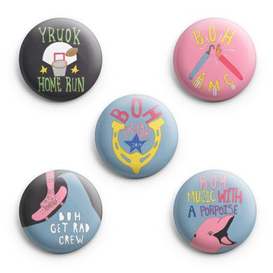 Band Of Horses Why Are You OK Button Pack
