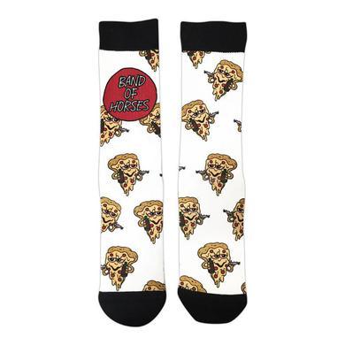 Band Of Horses Stoner Pizza Socks