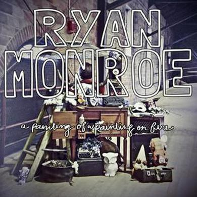 Band Of Horses Ryan Monroe - A Painting of a Painting on Fire