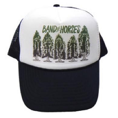Band Of Horses Pine Trees Trucker Hat