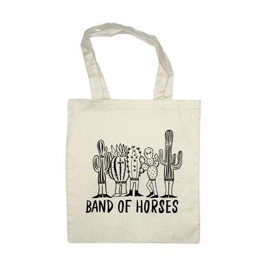 Band Of Horses Cactus Tote Bag