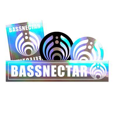 Bassnectar Reflective Sticker Pack